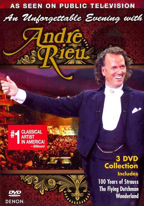 UNFORGETTABLE EVENING WITH ANDRE RIEU BY RIEU,ANDRE (DVD)